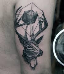 70 Antler Tetování Vzory Pro Muže Cool Rozvětvený Nátěr Horn Inkousty