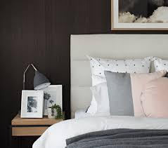 dark bedroom wall ideas dark brown master bedroom wall with beige headboard