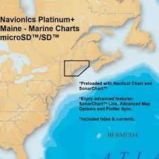 Ocean Tide Chart Maine Details About Navionics Platinum Marine Charts Maine With Nautical Chart Sonarchart