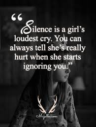 Girl Love Quotes Beauteous Silent Girl Love Quotes Majalbe