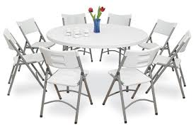 8 10 people are seated around a 5 6 diameter round table table rows are off center in order to maximize seating