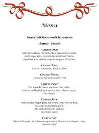 Party Menu Plated Dinner Party Essential Chefs Catering