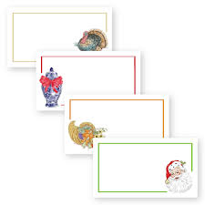 Holiday Placecards Icon Holiday Place Cards Donovan Designs