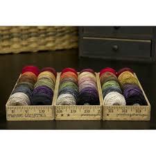Valdani Thread Color Chart Ruler Box With Valdani Threads