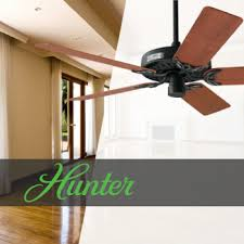 hunter fans and lighting