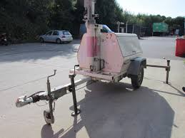 Light Tower For Sale Mobile Telescopic Mast Light Tower Flood Lighting With Generator Trailer Surrey