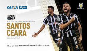 Fora de casa, Ceará faz estreia no Brasileirão contra o Santos