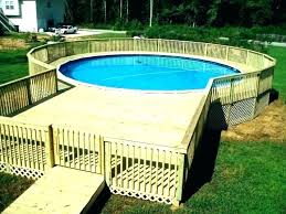 I Above Ground Pool Decks Pics Interior Prefab Modern  Deck Cost Inexpensive Options