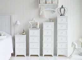 White Chest Of Drawers Bedroom Maine Slim Chest Of Drawers White Bedroom  Storage Furniture Decoration