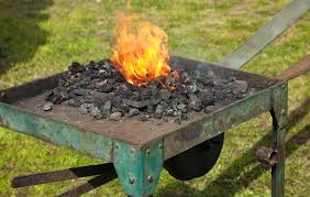 coal forge for blacksmith the