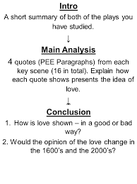 romeo and juliet key scenes ppt  romeo and juliet key scenes 2 intro
