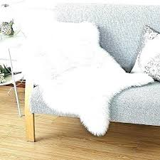 white fur area rug fur rugs faux fur rug white large white fur area rug