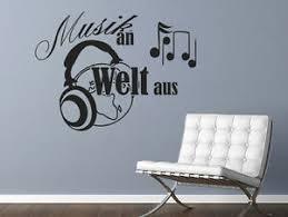 Wandtattoo Musik Sprüche Musik An Welt Aus Nr 1 Wand Tattoos