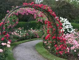 Small Picture Contemporary Garden Design Arches Entrance On Decor