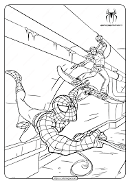 Lego spiderman coloring pages lovely lego spiderman coloring pages baby spiderman coloring pages at getcolorings. Marvel Spiderman Pdf Coloring Pages
