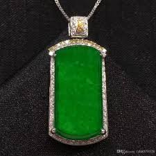 whole w0079 china tradition green real burma jade disc pendant charm fashion carved jade necklace japanese jade jewelry gold name necklace mens gold