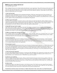 Personal Essay For College Application Ghostwriting Service