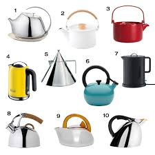 modern tea kettles  teapots  design milk