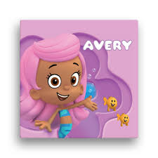 >bubble guppies molly 16 x 16 canvas wall art tv s toy box