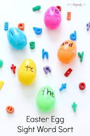 word easter egg easter egg sight word sort activity pin jpg
