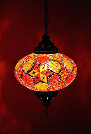 moroccan hanging lamps toronto large orange style lamp handmade mosaic single lantern pendant light add29e