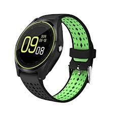 Buy JOKIN V9 Bluetooth Smart watch (Black-Green ... - Amazon.in