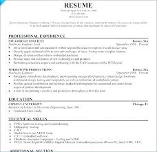 Software Engineering Resume Embedded Software Engineer Resume ...
