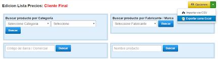 Formato De Lista De Precios Actualizar Lista De Precios Via Excel