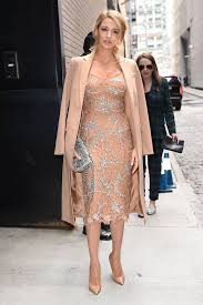 blake lively arrives at the michael kors fall 2016 runway show during new york fashion week