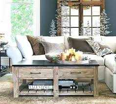 coffee table pottery barn black glass collection inspirational wooden oval