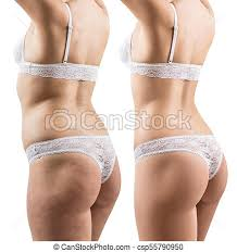 Weight Loss For Women Collage Of Female Body Before And After Weight Loss