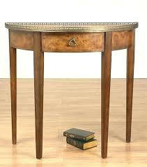 semi circle accent table circle accent table half circle accent table wonderful best of half circle semi circle accent table