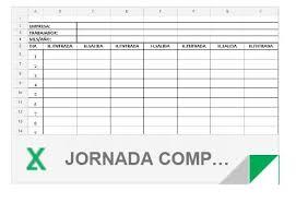 Formato De Asistencia Del Personal Plantillas Registro Diario De Horas Trabajadas Para