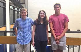 three whs seniors d national merit semifinalists good  three wilton high school seniors were notified wednesday that they were 2018 national merit scholarship semifinalists michael wallace mia ruefenacht and