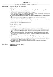 Team Leader Resume Examples Leadership Objectives Travel S Sevte