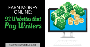 Freelance Writing Jobs  Top    Sites Where You Can Get Paid to Write Make A Living Writing Service Invoice for article writers