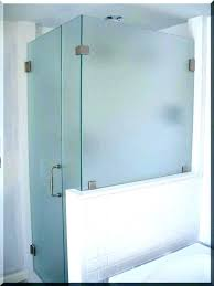 showers half wall glass shower corner showers tile with best pattern glas half wall