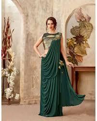 Designer Stitched Saree Mohmanthan Mariposa Readymade Designer Saree 5008 Saree