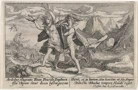 Apollo Achtervolgt Daphne Metamorfosen Van Ovidius Passe