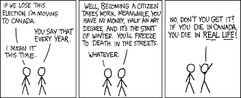 Obligatory Comic Moving Know Meme Xkcd Your To Canada