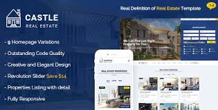 real state template castle real estate template by brighthemes themeforest