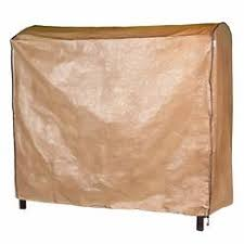 abba patio outdoor patio cover for 3 seat canopy porch swing hammock polyethylene brown covers outdoor patio
