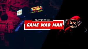 Online Game Mad Man Youtube Channel Art Template Fotor