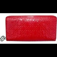 Coach Chelsea Embossed Signature Patent Wallet