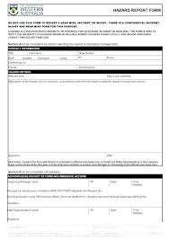 Form Template Investigation Car Company Vehicle Accident
