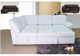 Small Picture Lovely Sofa Bed White Leather Impressive Modern White Leather Sofa