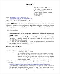 Software Resume Objective Magdalene Project Org