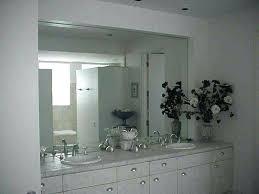 bathroom frameless mirror – homefield