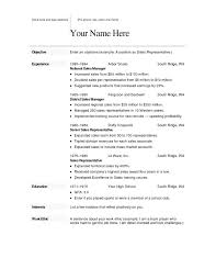 Free Download Of Resume Templates For Microsoft Word Entry Level ...