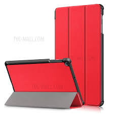pu leather tri fold stand tablet case cover for for samsung galaxy tab a 10 1